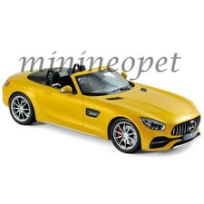 NOREV 183451 2017 MERCEDES BENZ AMG GT C ROADSTER 1/18 DIECAST MODEL CAR YELLOW