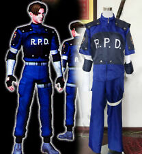 Resident Evil 6 Leon·Scott·Kennedy R.P.D Uniform Cosplay costume custom made set