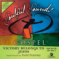 Todd Dulaney - Victory Belongs To Jesus -  Accompaniment/Performance Track – New