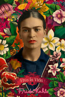 FRIDA KAHLO - COLLAGE POSTER 24x36 - ART 241443