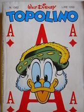 Topolino n°1562 [G.273] - BUONO –
