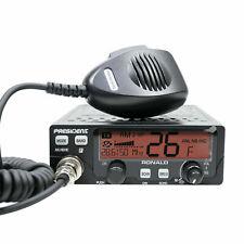 President Ronald Mobile Ham /CB Radio 10/12m or wideband 11m AM FM 50 watt