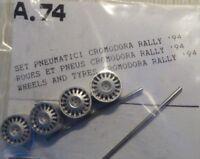 "RUOTE 1/43 x CROMODORA 16"" da RALLYE  anni 1994>   TRON  A074"