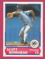 1989 Score Young Superstars # 42 Scott Bankhead -- Seattle Mariners