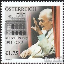 Oostenrijk 2411 postfris 2003 Marcel Prawy