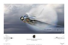 English Electric Lightning F.6 RAF binbrook 11 SQUADRONE Digital Art Print