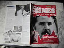 Henry Lee Lucas, REAL CRIMES 13, Colin Chisan, John Bodkin Adams, Carl Coppolino
