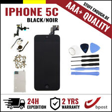 AAA+ LCD TOUCH SCREEN/SCHERM/ÉCRAN FULL ASSEMBLY BLACK NOIR +TOOLS FOR IPHONE 5C