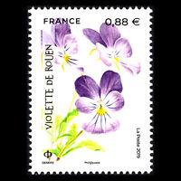 France 2019 - Endangered Flora Flowers - MNH