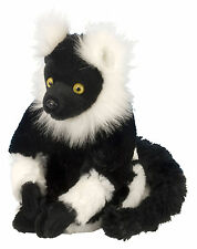 Lemur White-Black 20 cm Snuggle Buddy Plush Animal Wild Republic 12271