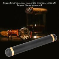 Quality Travel Portable Metal Single Cigar Moisturizing Tube Holder Case Gift