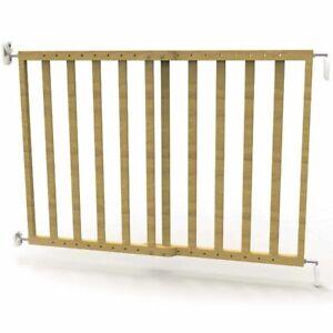 Noma Cancello Sicurezza Estensibile 63,5-106cm LegnoNaturale Cancelletto Bimbi