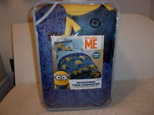 Despicable Me Minions Microfiber Twin Comforter - NEW