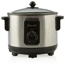 Continental Cp43279 - 5.8 Qt. Electric Deep Fryer and Multi Cooker Stainless.