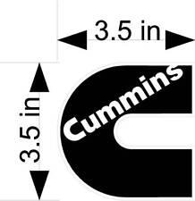 CUMMINS logo vehicle decals/stickers