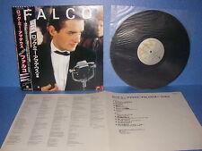 FALCO 3 JAPAN LP AMP-28146 WARNER PIONEER DOUBLE OBI INSERT ROCK ME AMADEUS