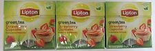 Lipton STRAWBERRY CUPCAKE tea -3 boxes/ 60 tea bags