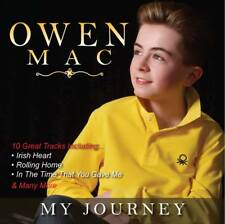 Owen Mac My Journey Album CD New /Country/Singer/Ireland/Irish/Rock/Pop/Album/