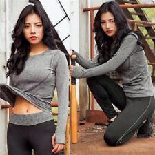Women Sport Gym Yoga Running Fitness Long Sleeve Quick Dry Shirt Blouse Tops ba
