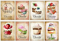 French Patisserie Glossy Finish Card Topper - Crafts Embellishment