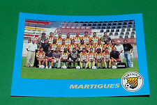 N°11 EQUIPE TEAM FC MARTIGUES FCM PANINI FOOT 96  FOOTBALL 1995-1996