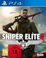 PS4 Spiel Sniper Elite 4 100% UNCUT NEU&OVP Playstation 4