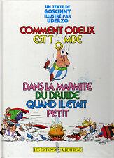 COMMENT OBELIX EST TOMBE DANS LA MARMITE .. GOSCINNY, UDERZO ... EO