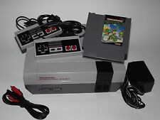 NINTENDO NES SYSTEM CONSOLE WITH GUARANTEE NEW 72 PIN CONNECTOR & TMNT GAME
