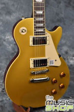 New Epiphone Les Paul Standard Electric Guitar - Metallic Gold Top MG