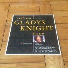 """GLADYS KNIGHT & THE PIPS - THE SINGLES ALBUM (UK 1989 12"""" VINYL ALBUM) POLYGRAM"""