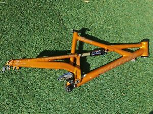 MADE IN USA Cannondale Prophet Full Suspension MTB Frame w/ Manitou Shock Medium