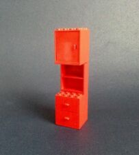 LEGO Classic Vintage - Mobilier Modulable rouge / Red Furniture - Collector 1970
