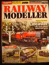 Railway Modeller Aug 2013 Bath Mayfield, Pen-Y-Bont, Lincaster-live garden steam