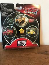 disney cars mini racers 3 pack glow in the dark series