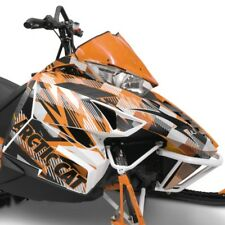 Arctic Cat Orange Strobe Hood & Side Panel Decal Wrap - 2012-2018 ZR F XF M