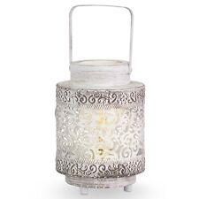 Lampada vintage a 1 luce lanterna bianca D.17 GLO 49276 Talbot