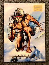 1996 Marvel Masterpieces #91 WEAPON X Genesis Base Card Boris Vallejo Art NM/M