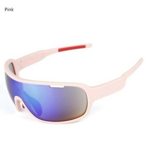 Pink Outdoor Men's And Women's Sports Polarized Riding Sunglasses
