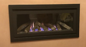 Panoramic Large Glass Fronted High Efficiency Gas Fire 5.2kw