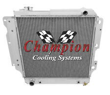 2 Row Performance Champion Radiator for 1997 - 2004 Jeep Wrangler