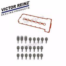 For BMW E60 E90 Z4 Valve Cover Gasket Set+Bolt Kit VICTOR REINZ