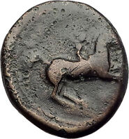 Philip II 359BC Olympic Games HORSE Race WIN Macedonia Ancient Greek Coin i62573