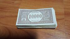 LOTTO 121 BANCONOTE MONOPOLI 10000