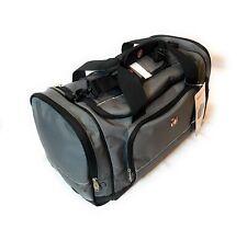 """NWT SWISS GEAR 20"""" Sport Duffel Bag Gray/Black Travel/Gym/Multi-Purpose SA9000"""