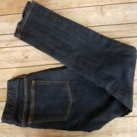J Crew Factory Womens Toothpick Jeans Low Rise Skinny Stretch Size 26