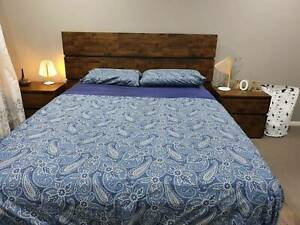 Solid Mango Wood Queen Bed for sale!!