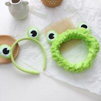 Cute Frog Selfie Headband Elastic Wide-brimmed Animal Hairbands Headwear Fahion