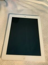Apple iPad 2 9.7in - WiFi Black And White 16GB silver back Very Good Condition