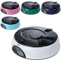 Bunty Automatic 6 Day Meal Pet Dog Cat Feeder Food Bowl Auto Holiday Dispenser