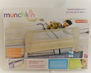 """MUNCHKIN Toddler Bed Rail NEW IN PACKAGE 36"""" x 18"""" Safety Rail Ages 2-5 Yrs"""